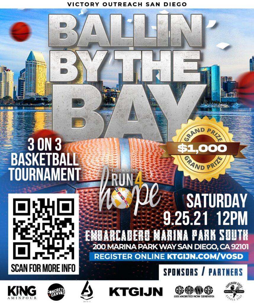 Ballin By the Bay Basketball Tournament @ Embarcadero Marina Park South