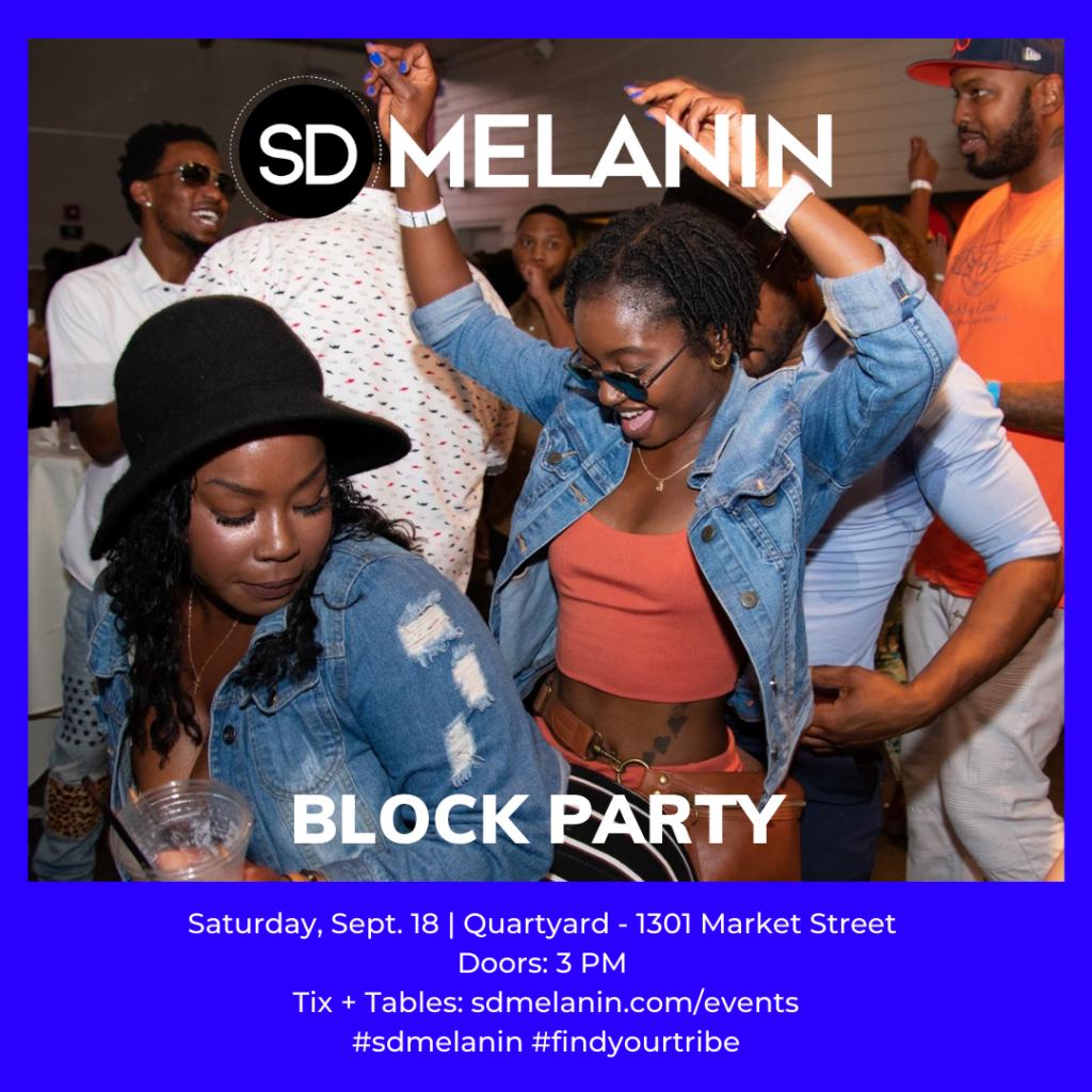 SD Melanin Block Party