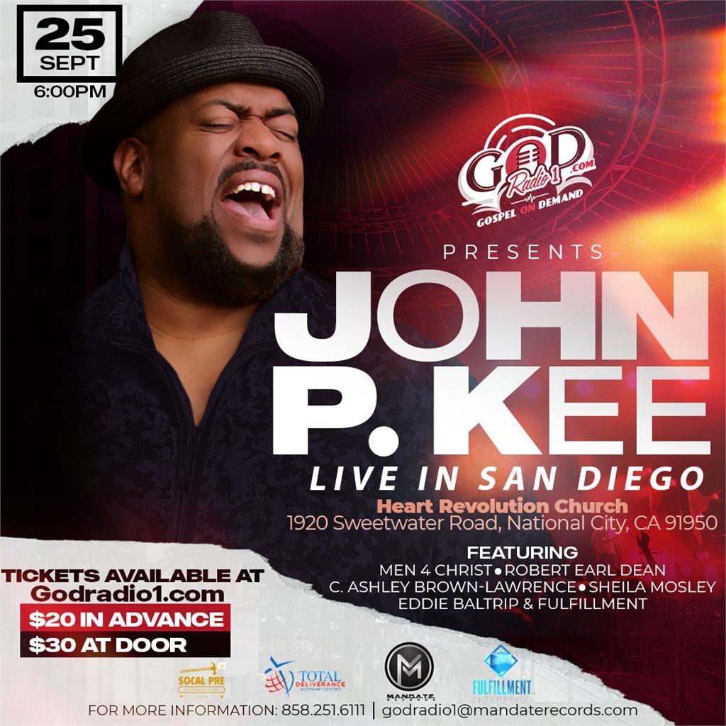 John P. Kee Live in San Diego @ HEART REVOLUTION CHURCH