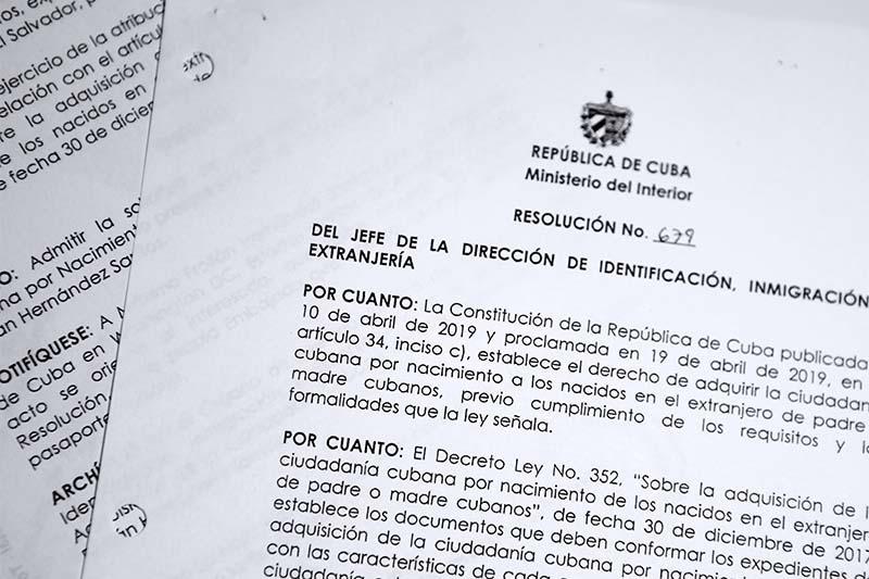 Certificado de Ciudadanía, Prórroga de Pasaporte, trámites consulares, pasaporte cubano, certificado y legalización, combos de alimentos, envíos a cuba