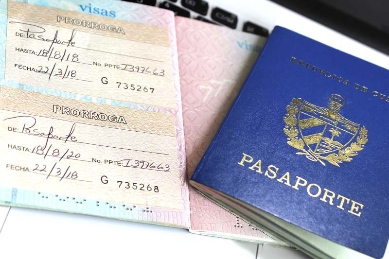 Prórroga doble de pasaporte cubano, Prórroga de Pasaporte, trámites consulares, pasaporte cubano, certificado y legalización, combos de alimentos, envíos a cuba