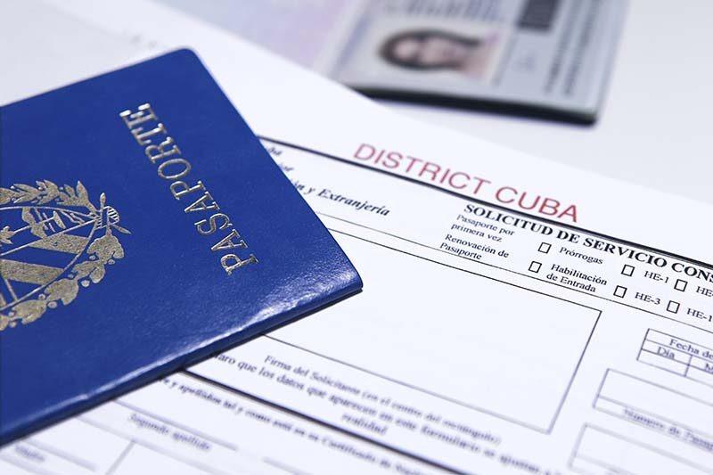 Renovación de pasaporte cubano, Prórroga de Pasaporte, trámites consulares, pasaporte cubano, certificado y legalización, combos de alimentos, envíos a cuba