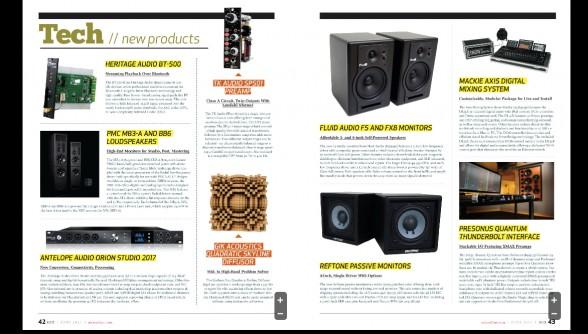 Reftone in Mix Magazine June Edition
