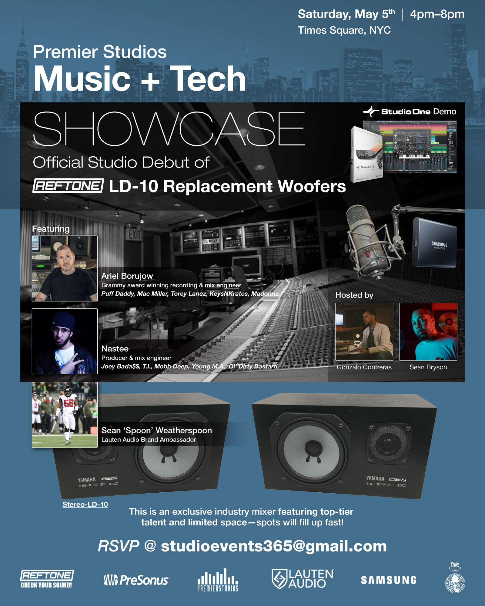 Music + Tech Showcase NYC - Reftone