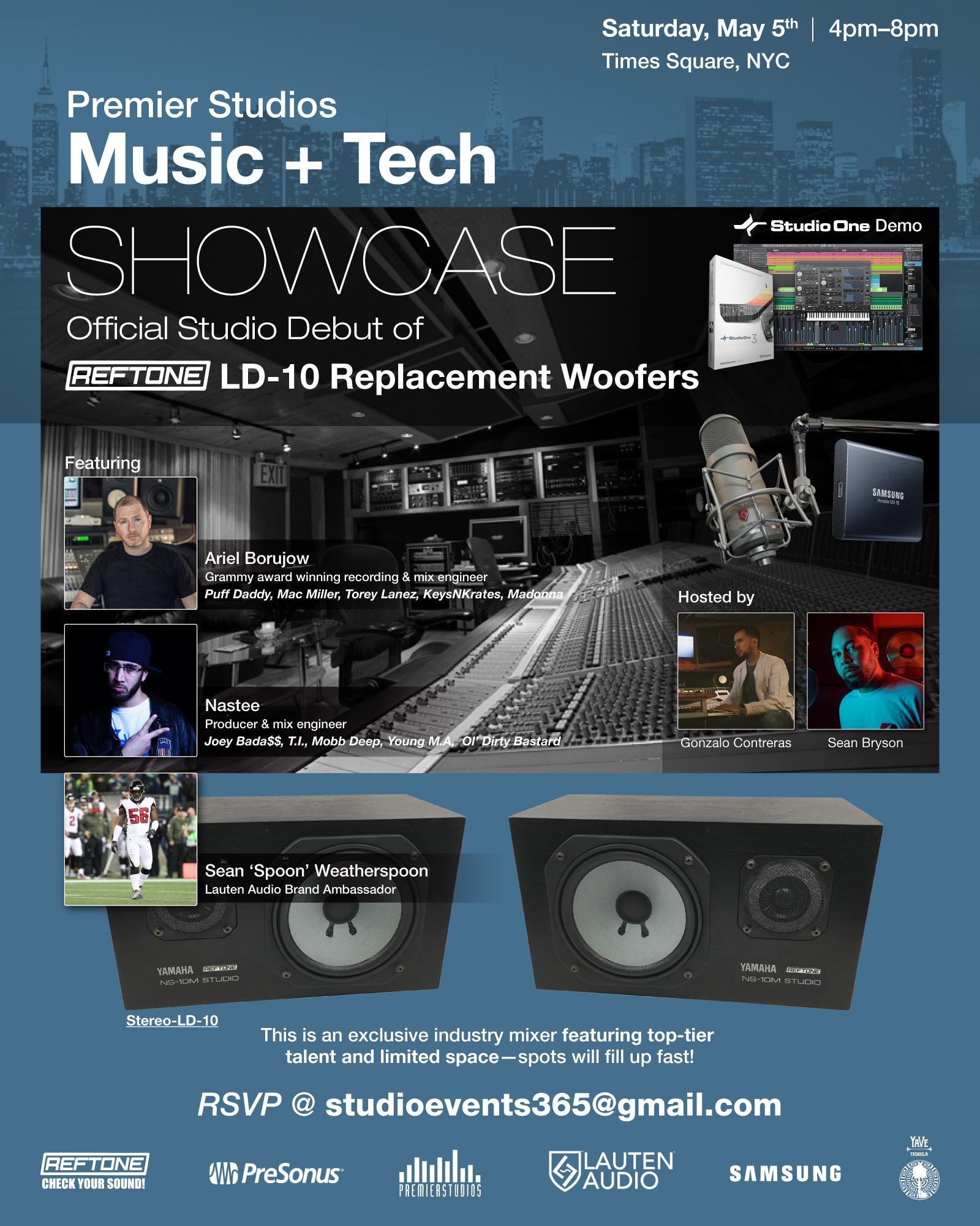 Music + Tech Showcase NYC - Reftone