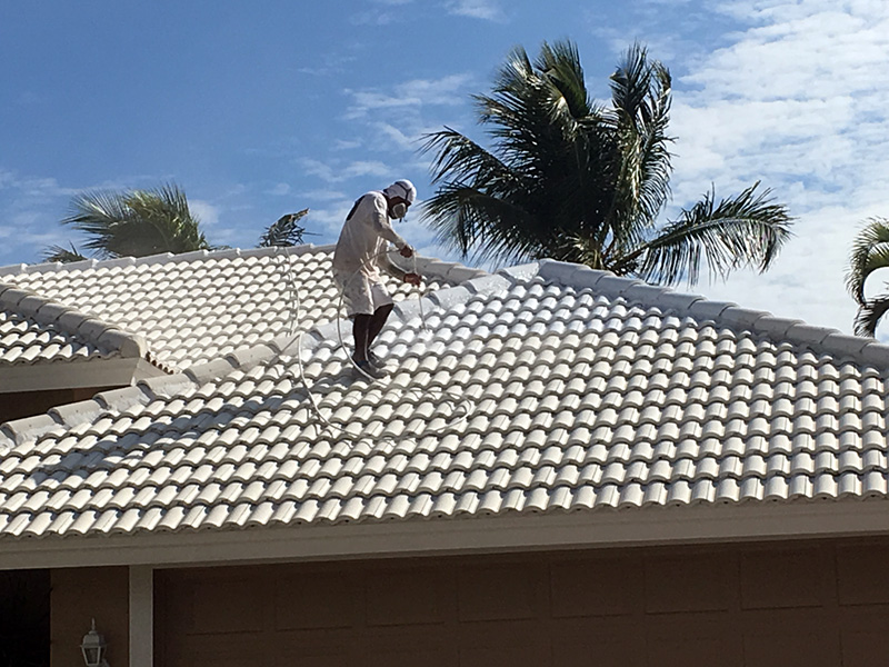 Pressure Washing roof - aceperformanceplus.com