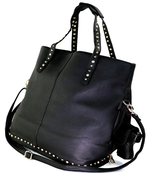 fashionable_black_bling_concealed_carry_handbag_with_custom_holster_04