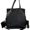 fashionable_black_bling_concealed_carry_handbag_with_custom_holster_07