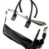 fashionable_black_white_concealed_carry_tote_handbag_with_custom_holster_07