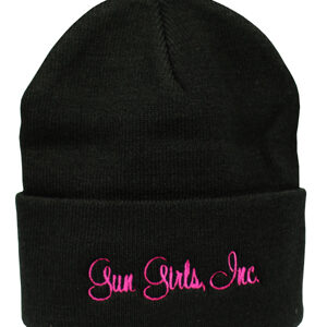 gun_girls_inc_black_pink_lettering_knitted_beanie