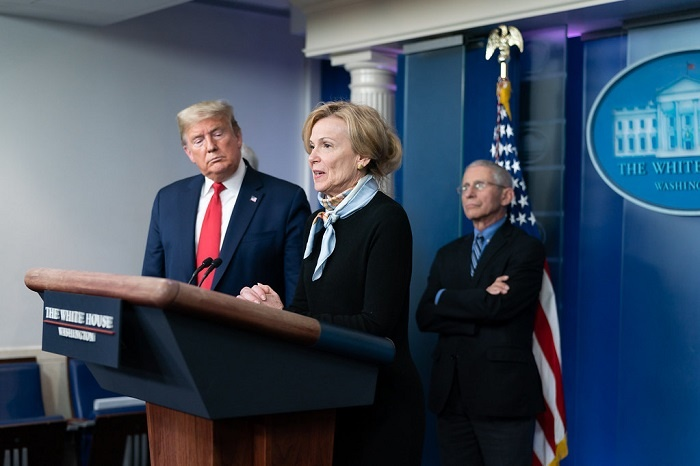 Trump COVID press briefing
