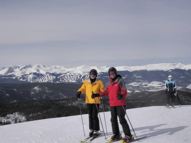 Dave Gaige and Fred Young at Keystone