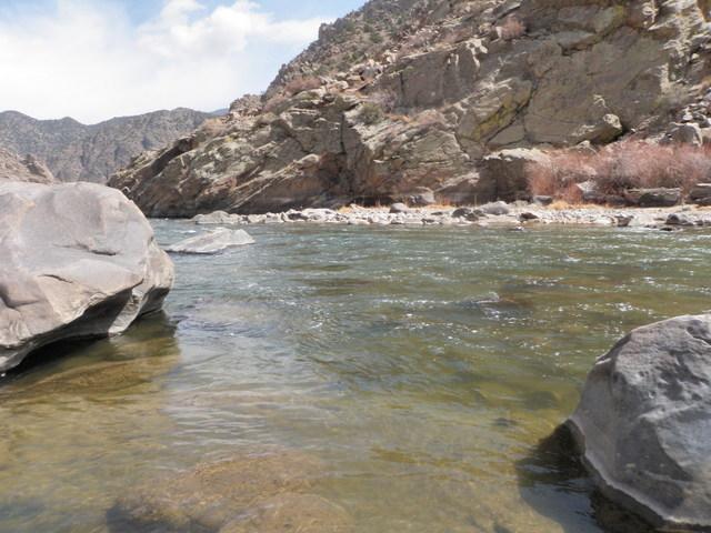 Upstream from Salt Lick Access