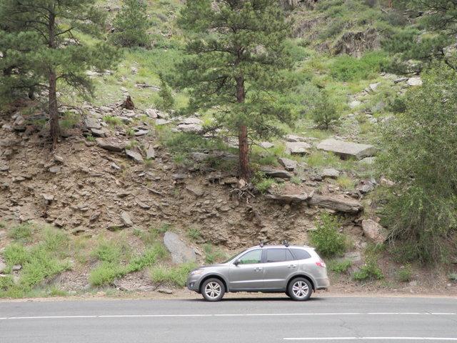 Precarious Parking Spot