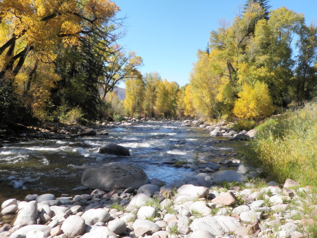 Autumn Splendor Along Eagle River at the Preserve