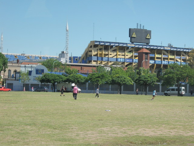 Stadium Used by Boca Juniors
