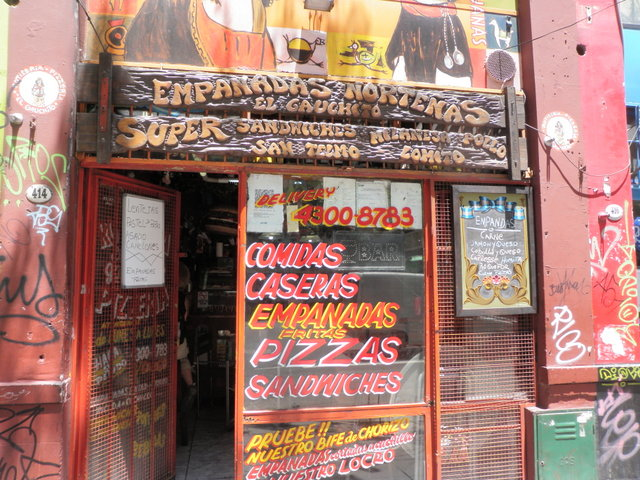 Empanada Store Near Defensa
