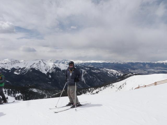 Dave at Top of Montezuma