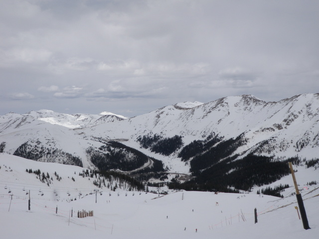 Looking Northeast Toward Loveland Pass