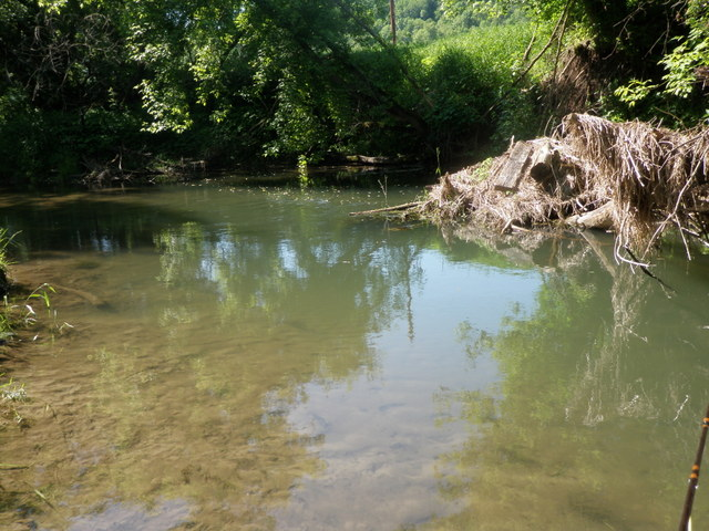 Beautiful Spring Creek Pool on Camp Creek