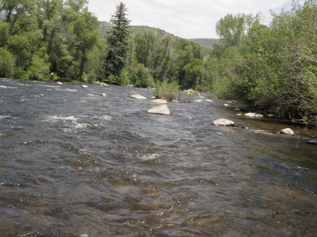 Eagle River Flows at 450cfs