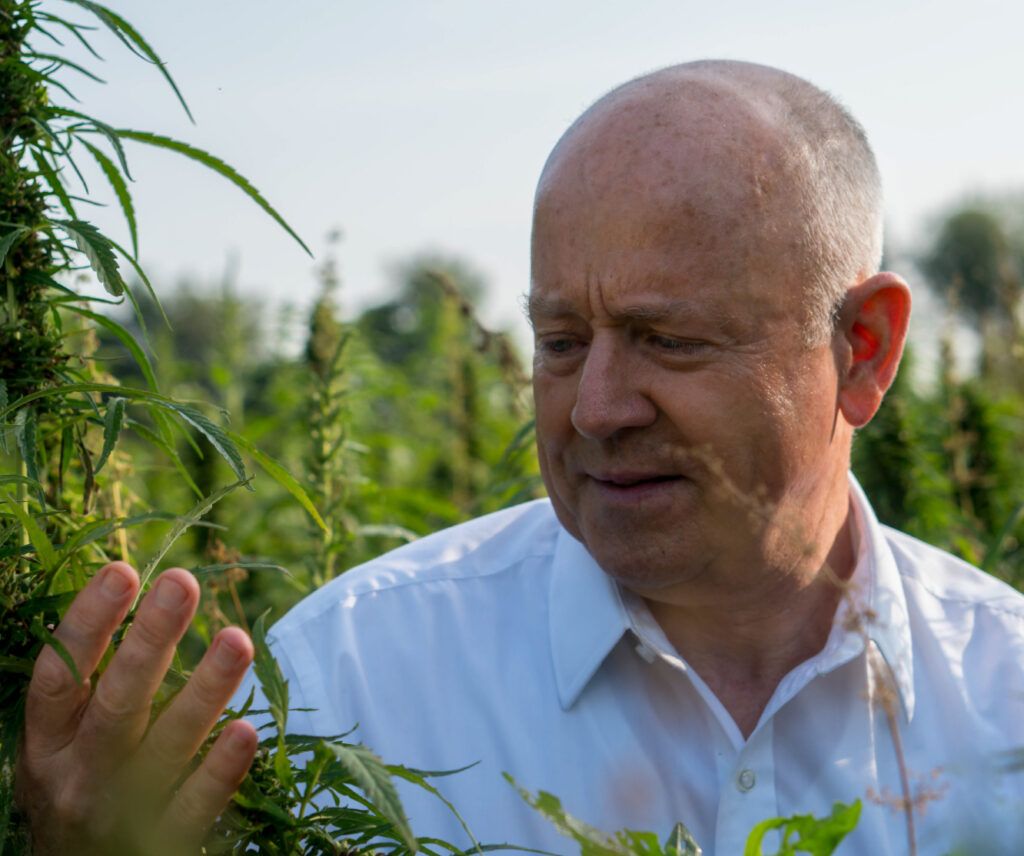 Joe Hickey Kentucky Hemp Field Halcyon Holdings