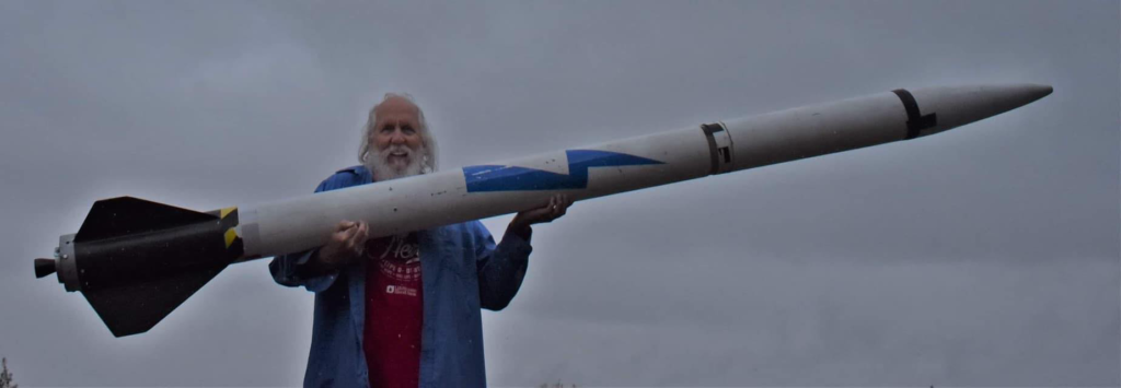 Our first lightning Rocket
