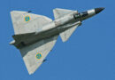 By Alan Wilson - Saab AJS-37 Viggen showing canards