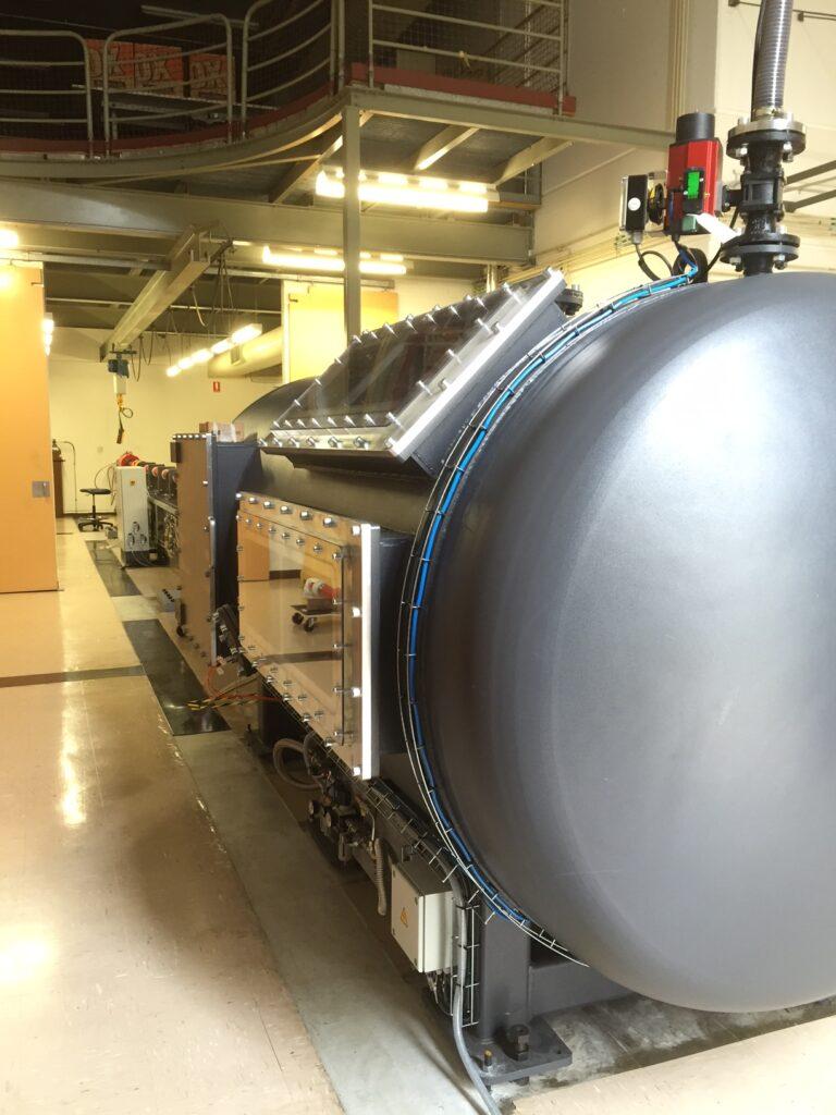 ADFA Gas Gun Canberra Target End