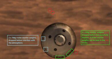 Mars 6 x 25Kg release