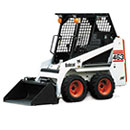 B&S Hire Bobcat Trencher for excavation works