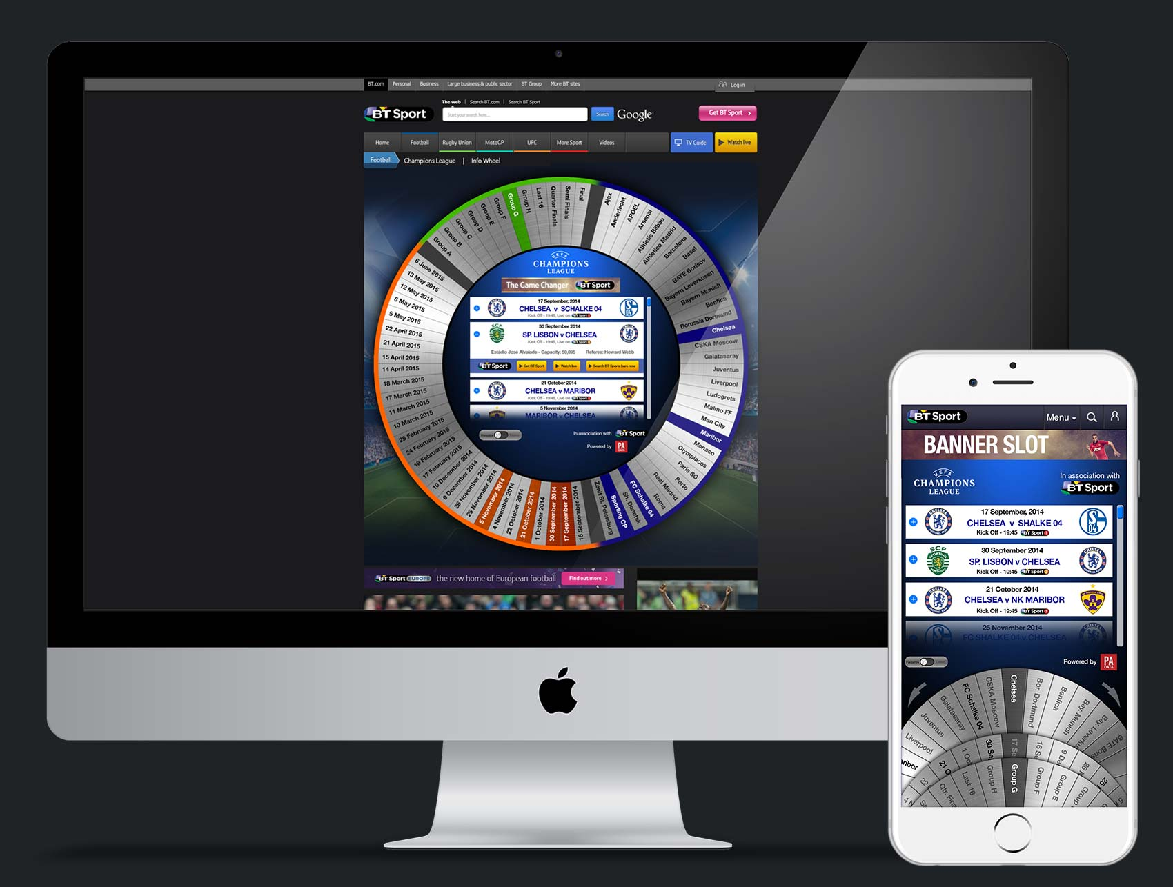 """Fixture Wheel. A concept which was made to pitch. An interactive digital product which serves as an easy way to """"Scan"""" fixtures for events such as the World Cup or Olympics"""