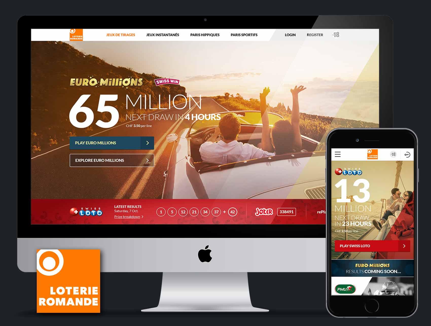 Loterie Romande Website