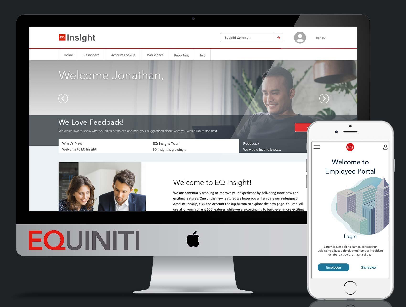 Equiniti – Senior UX/UI & Design System Manager