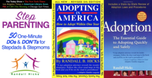 Books by stepparent adoption attorney: laws and procedures in California.