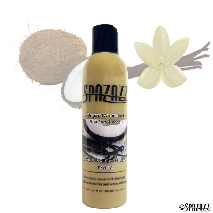 Coconut Vanilla Spa Elixir 9oz