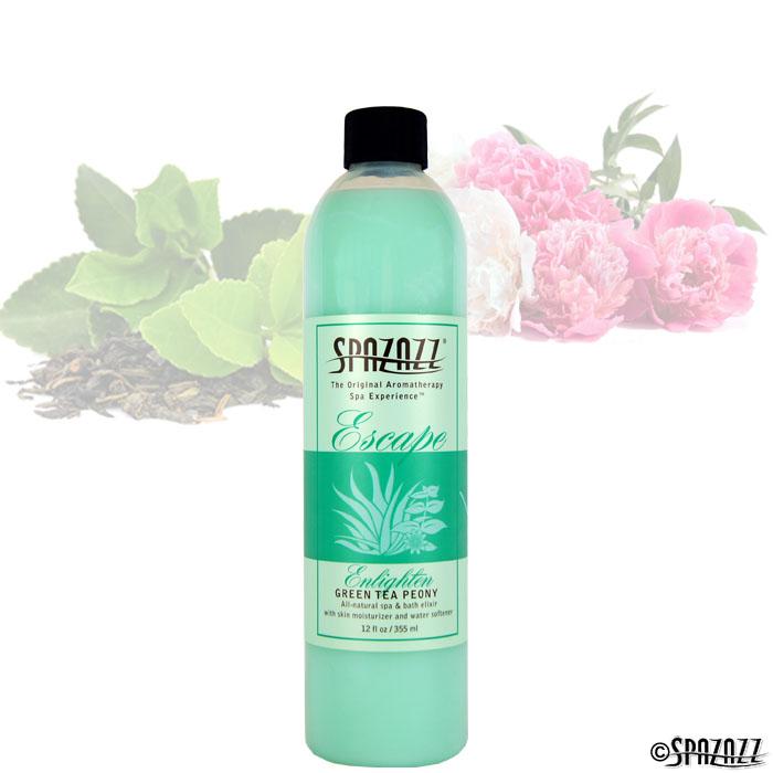 Green Tea Peony Spa Elixir 12 oz