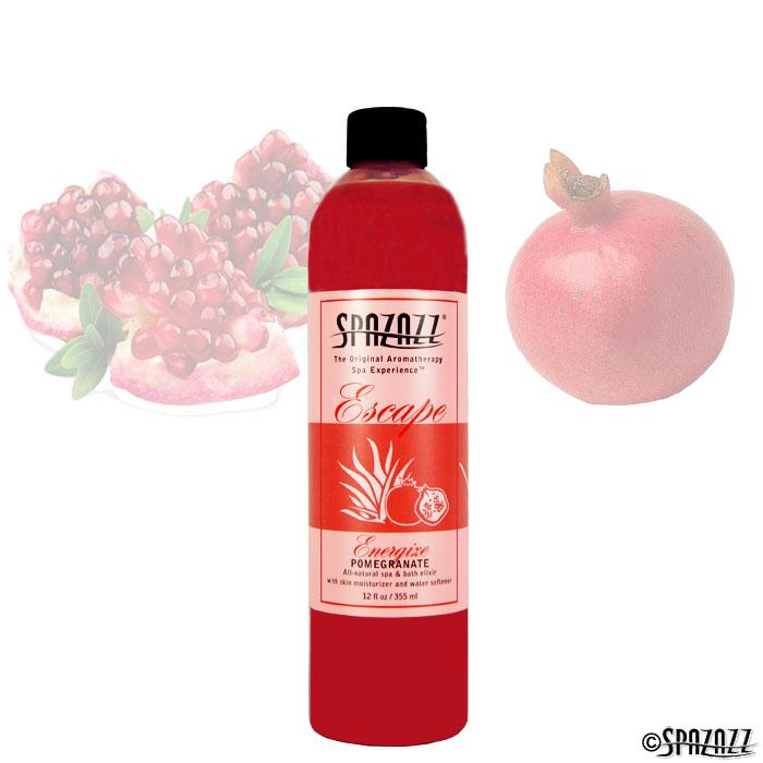 Energize Pomegranate Spa Elixir 12 oz