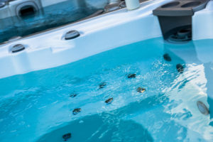 test my water clear blue water spa hot tub therapy