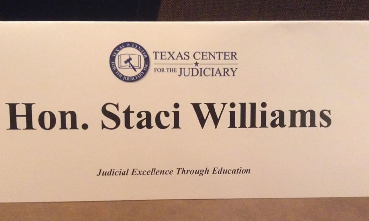 Judge Staci Name Plate Baby Judges School