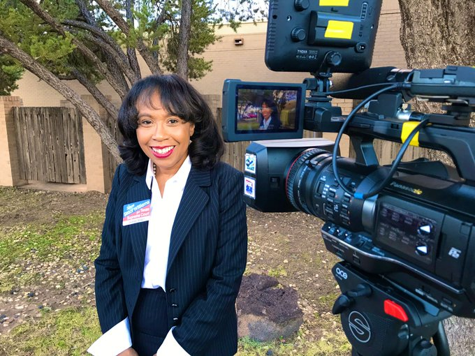 Texas Supreme Court candidate Staci Williams visits Big Spring