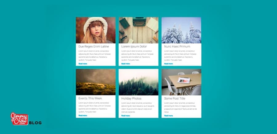 Display Your WordPress Blog in a Grid Layout