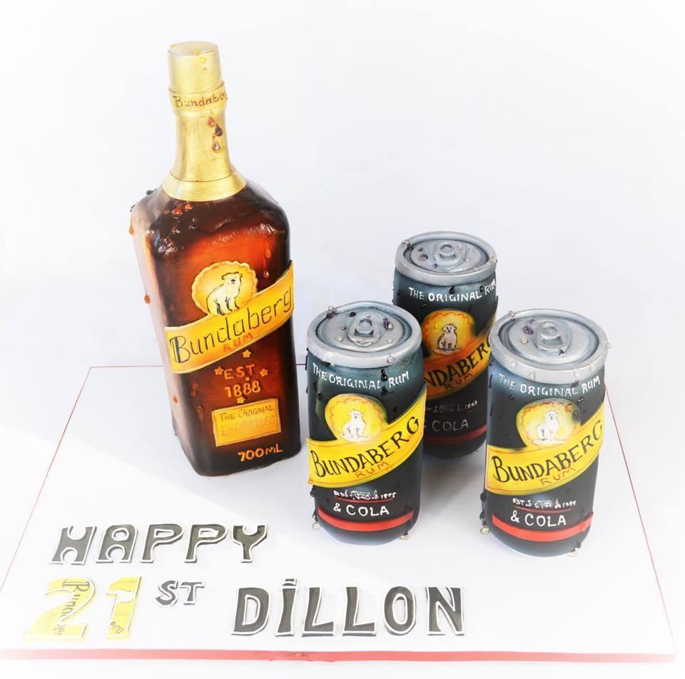 Birthday Liquor Cake