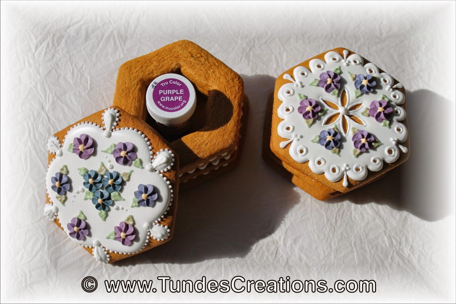 Purple Grape Cookies with jar
