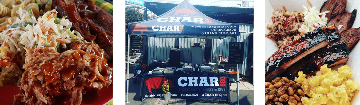 CharBBQ Catering Set-up