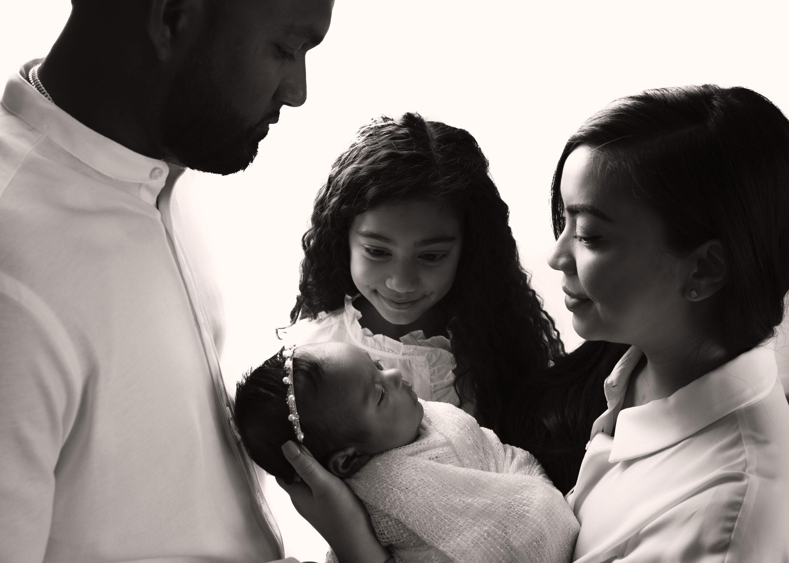 family newborn