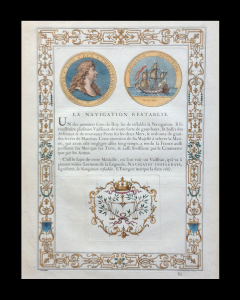 Medals of Louis XIV. 1702. matted size 21 x 16
