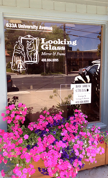 Looking Glass Mirror and Frame Storefront