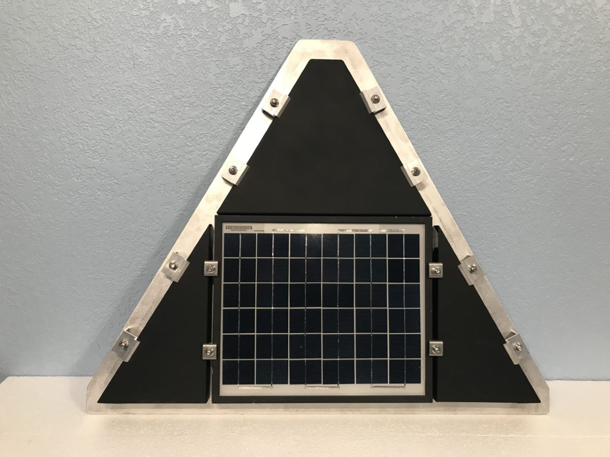 Solar Panel Triangle Rack
