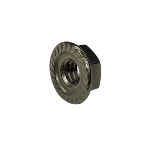 """1/4"""" Stainless Steel Flange Nut"""